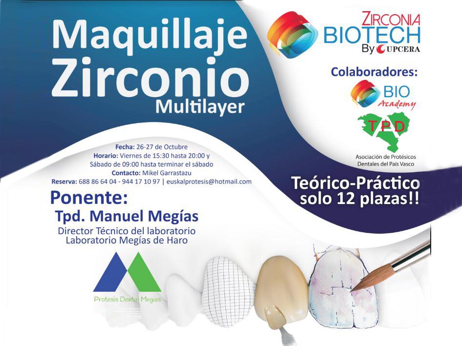 Curso Maquillaje Zirconio  26-27 octubre