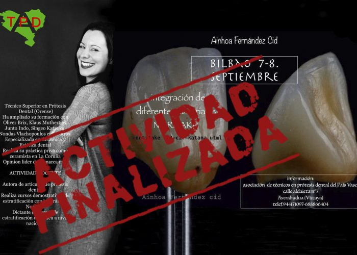 Curso Ainhoa Fernandez Cid 7- 8 De Septiembre 2018