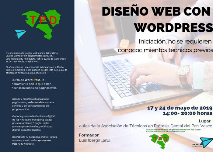 Curso de Diseño Web             17 y 24 Mayo de 2019