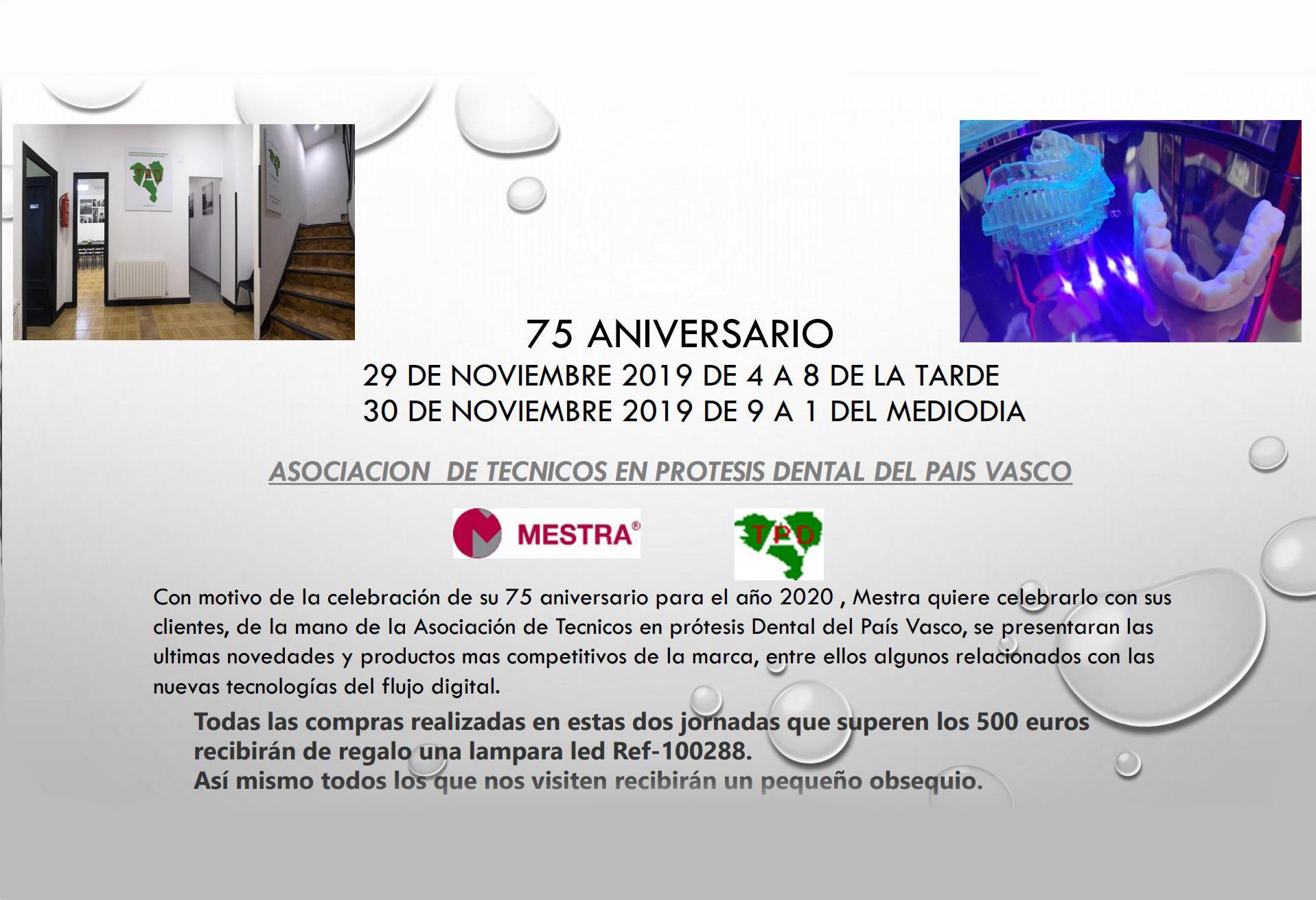 75 Aniversario MESTRA