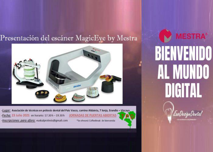 Presentación escáner MagicEye Mestra